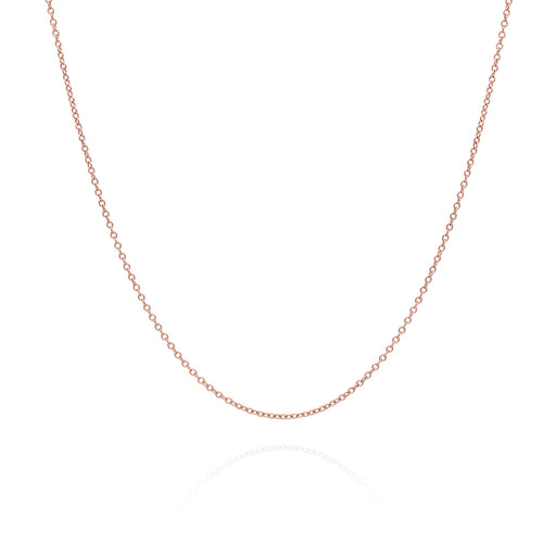 "16-18"" Delicate Rose Gold Chain"