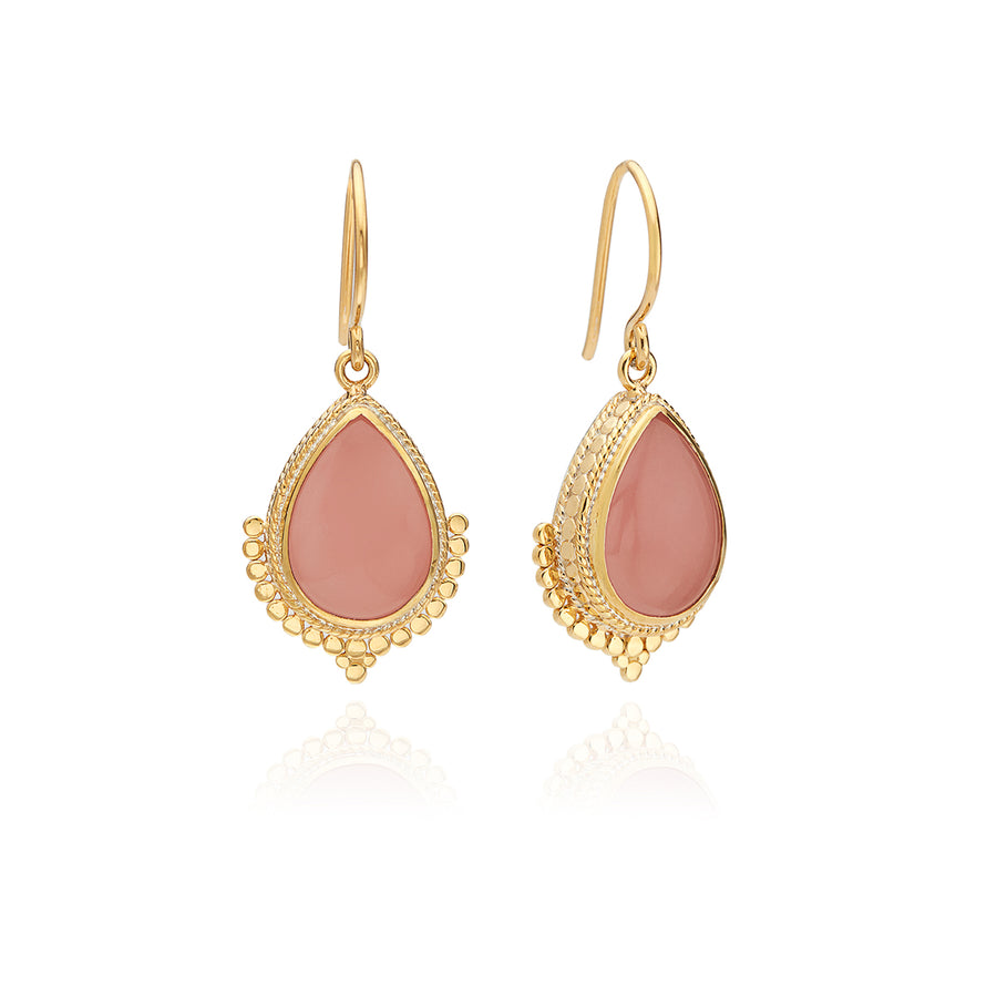 Guava Teardrop Earrings
