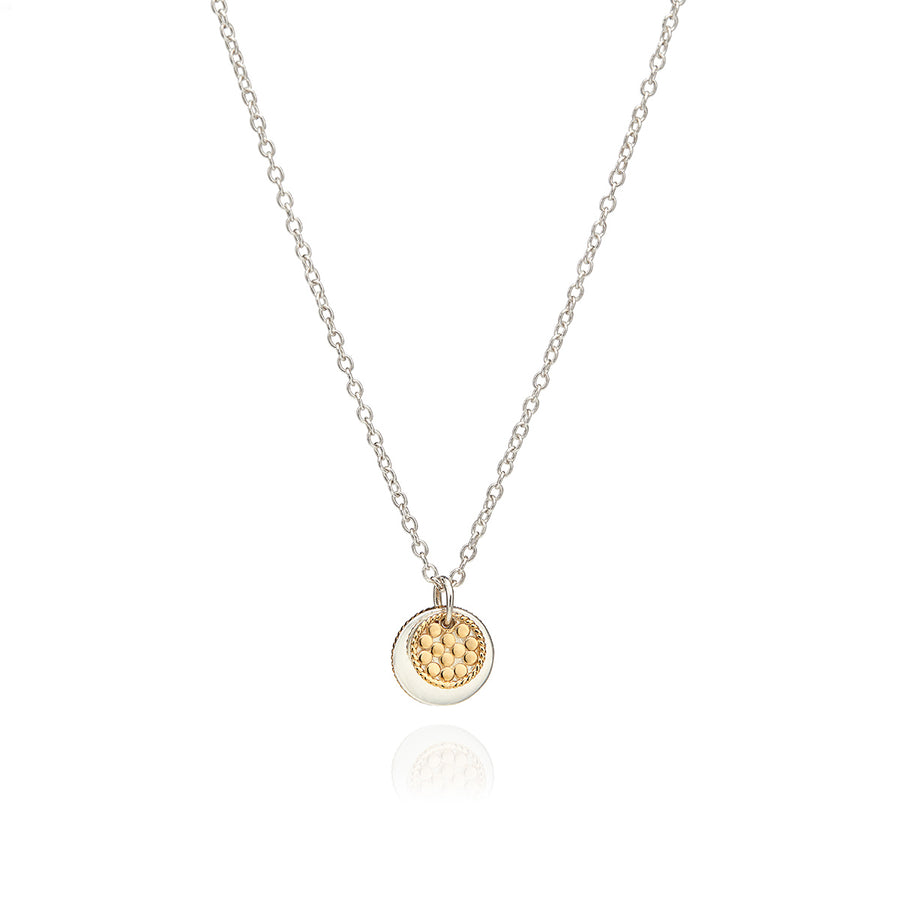 Circle of Life Layered Disc Necklace