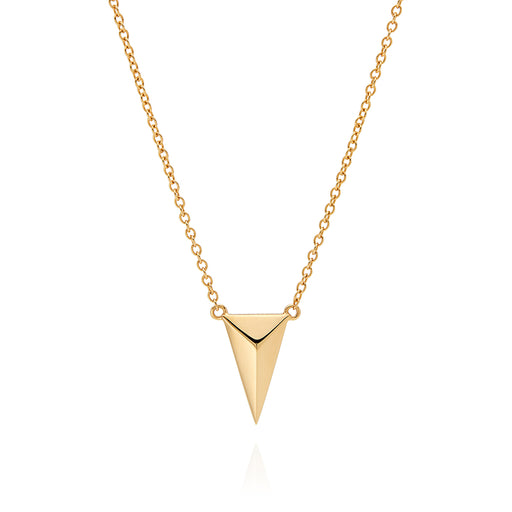 Raised Arrow Necklace