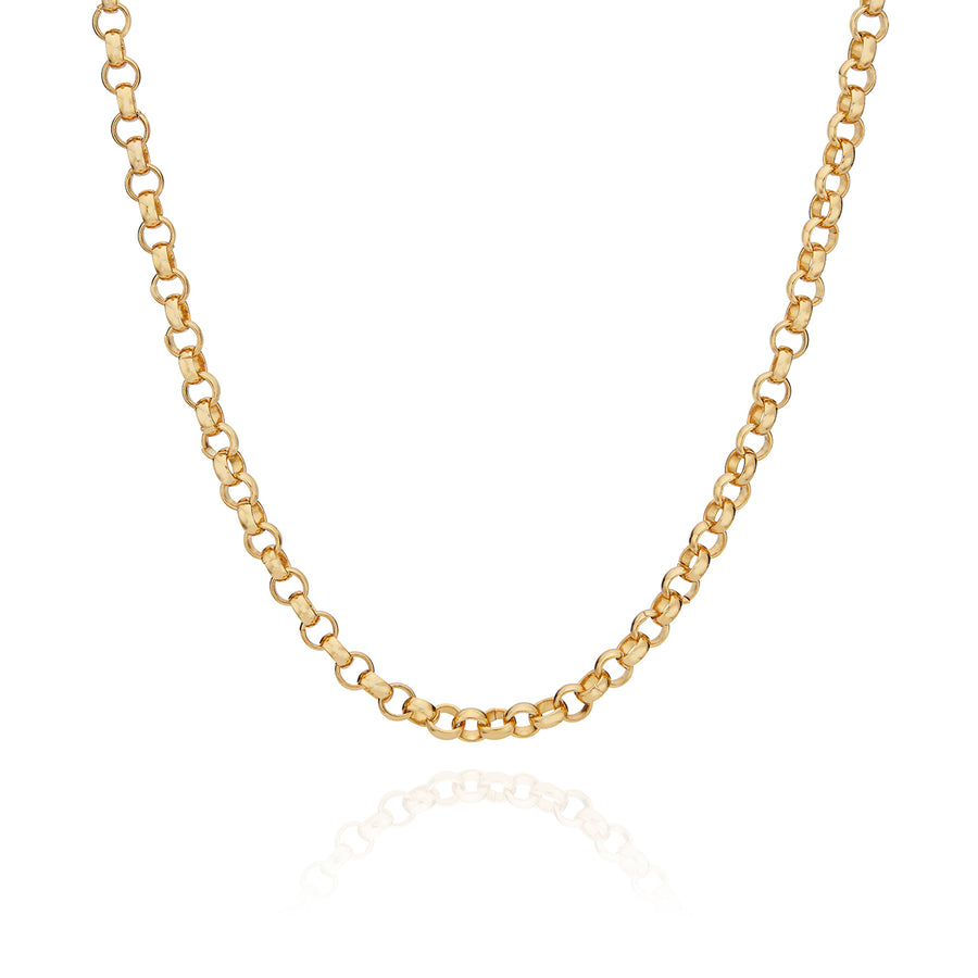 Rolo Chain Collar Necklace