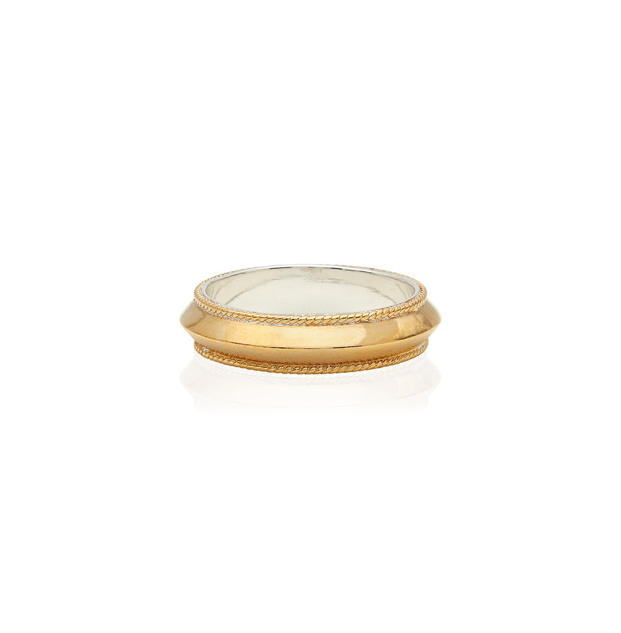 Edge Stacking Ring - Gold