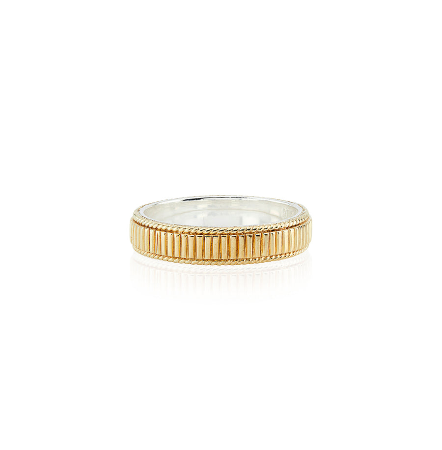 Linear Stacking Ring - Gold
