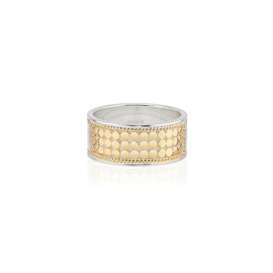 Classic Reversible Band Ring - Gold & Silver