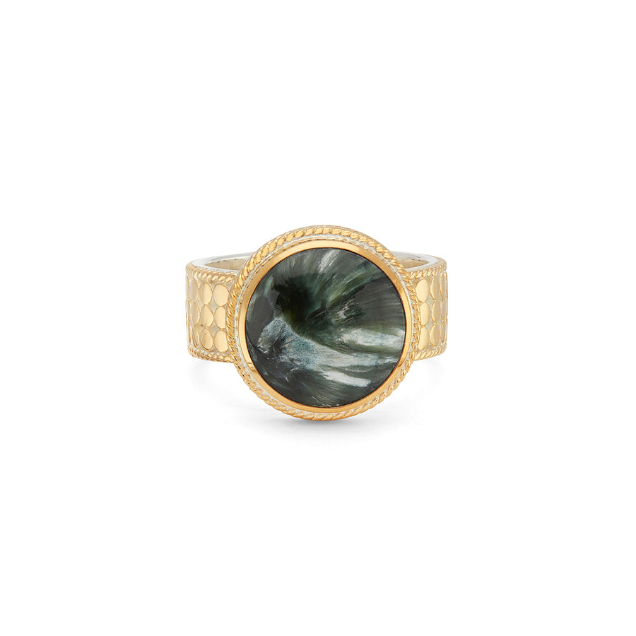 Seraphinite Cocktail Ring