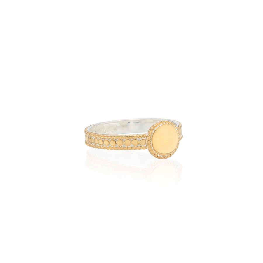 Engravable Disc Ring