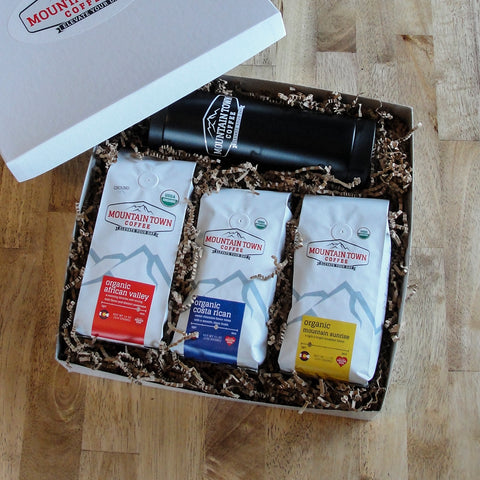 3 Item Organic Gift Box With Mug