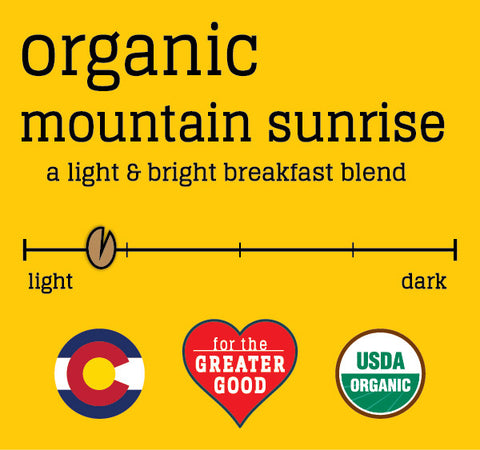 Organic Mountain Sunrise
