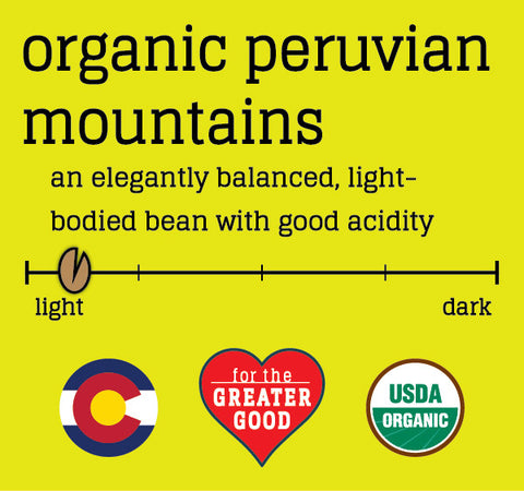Organic Peruvian Mountains