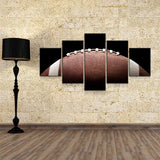 Football Canvas Wall Art, Football Decor, 5-Piece Wall Art - Royal Crown Pro