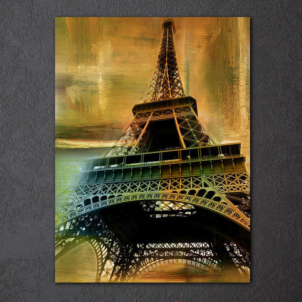 Etonnant ... Eiffel Tower Wall Art Canvas Vintage Paris Lovers   Royal Crown Pro