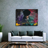 Fight For What You Want Canvas Wall Art Motivational Wall Decor - Royal Crown Pro