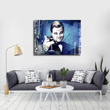 Cheers The Great Gatsby Canvas Wall Art Motivational Wall Decor - Royal Crown Pro