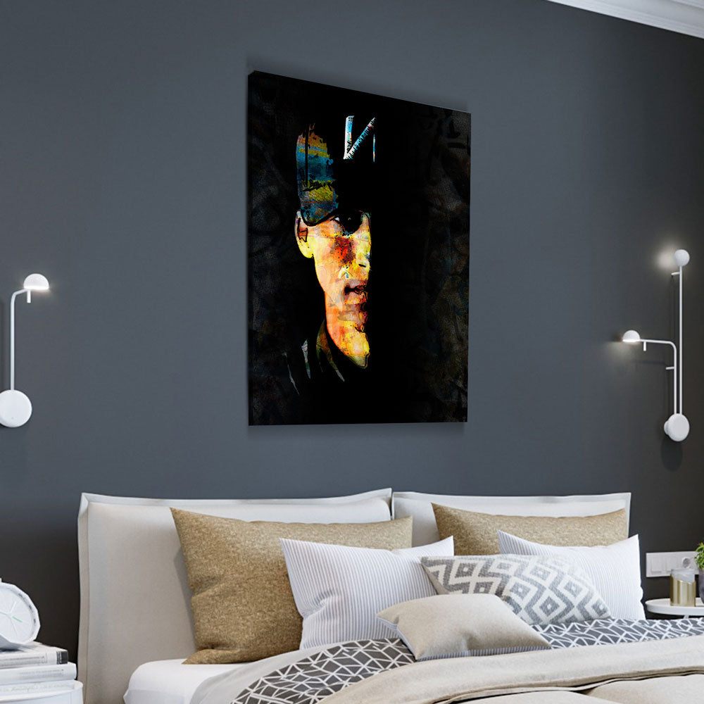 ИF Canvas Wall Art, American Rapper NF - Royal Crown Pro