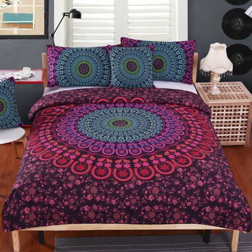BOHEMIAN NIGHTS 4 PIECE DUVET SET