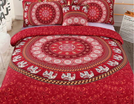 MOROCCAN NIGHTS 4 PIECE DUVET SET