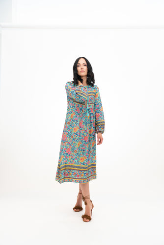 Flower Power Boho Dress
