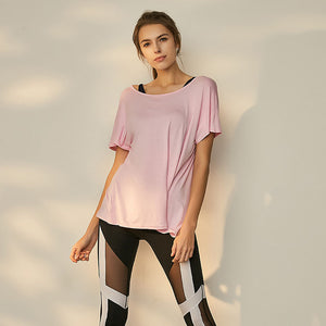 STAY COOL YOGA TOP