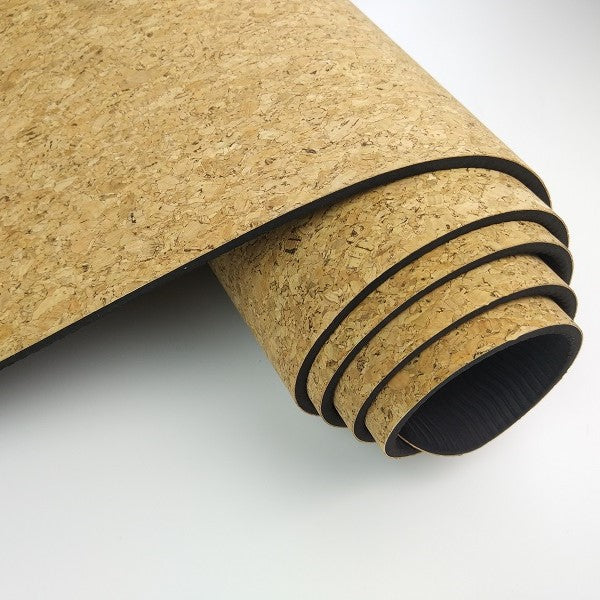 ECO- FRIENDLY NATURAL CORK YOGA MAT
