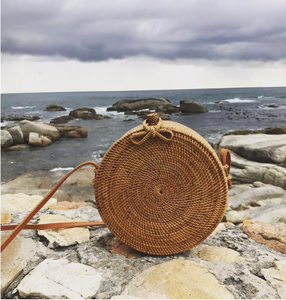 THE BALI RATTAN BAG