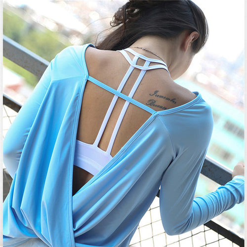 BREATHE OPEN BACK TOP