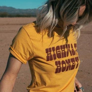 Higheway Honey Retro Tee