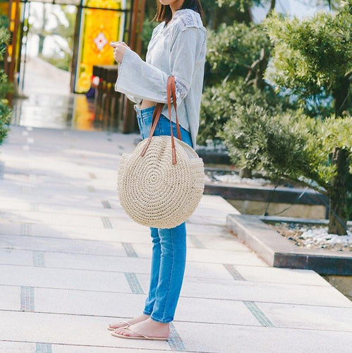 THE OAHU STRAW BAG