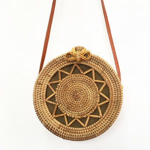 THE STAR ROUND BAG