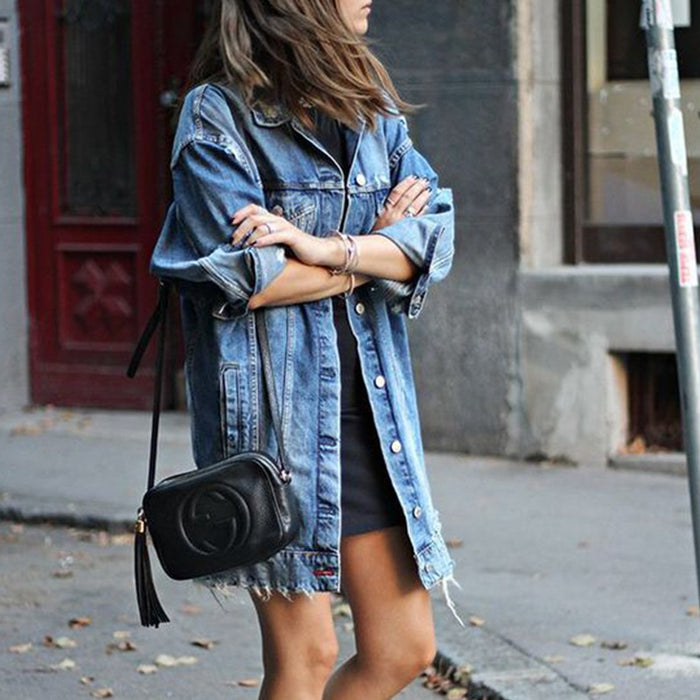 GYPSY OVERSIZED JEAN JACKET