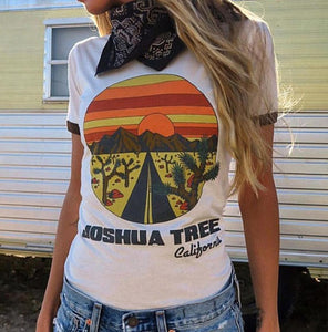 JOSHUA TREE RETRO TEE