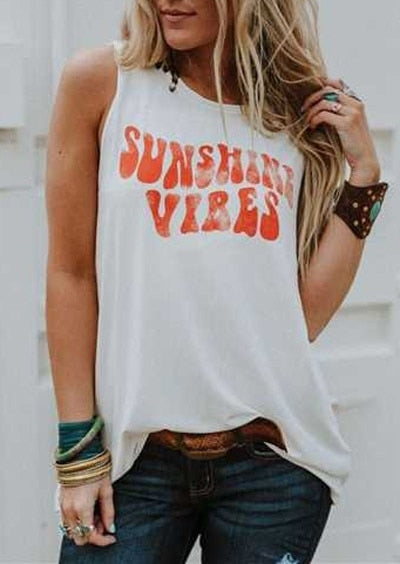 SUNSHINE VIBES RETRO TANK