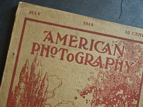 Favorite things: Vintage 'American Photography' magazine published July 1914