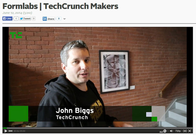 Keith Dotson photo appears in TechCrunch Makers video profile of Boston high-tech firm
