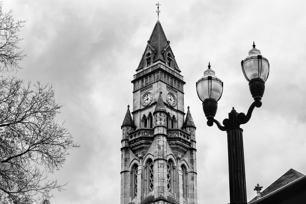 Nashville's Customs House Tower. Click to buy a fine art print.