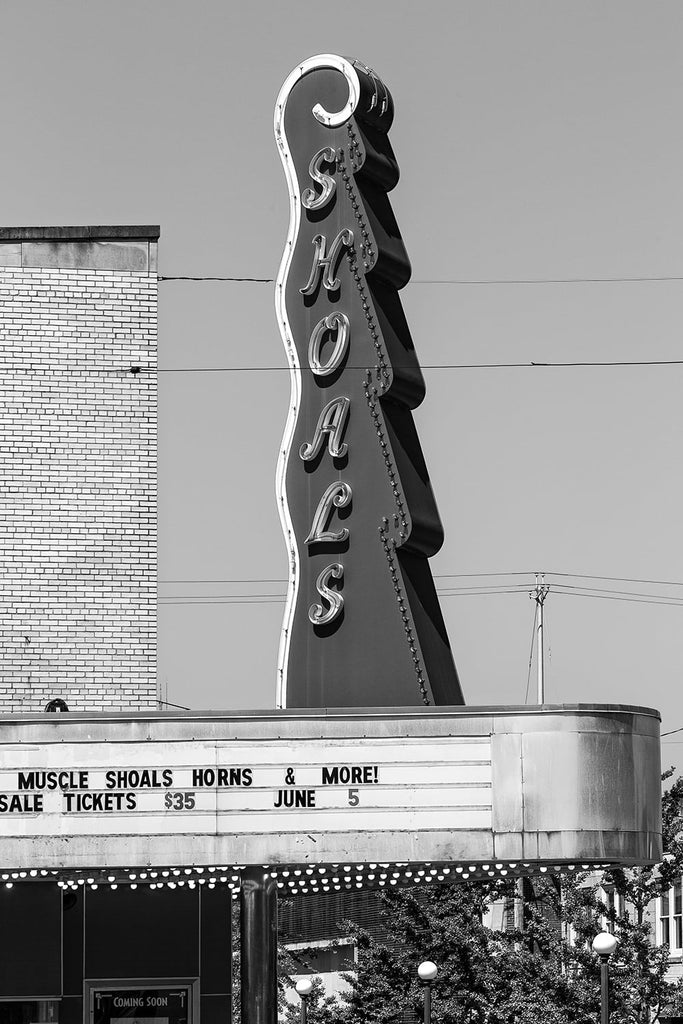 Shoals Theatre in Florence, Alabama built 1948