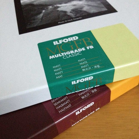 Ilford matte photo paper, double thickness