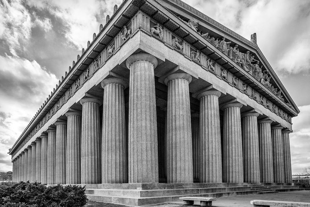 Nashville's Parthenon. Buy a print here.