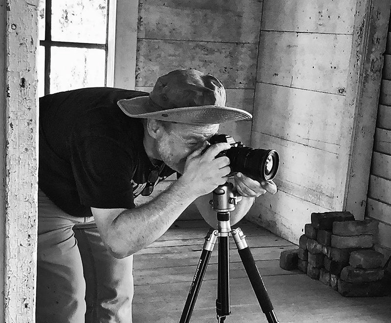 Portrait of photographer Keith Dotson