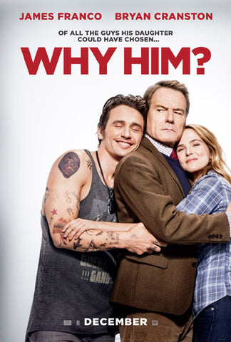 "Movie poster for ""Why Him?"""