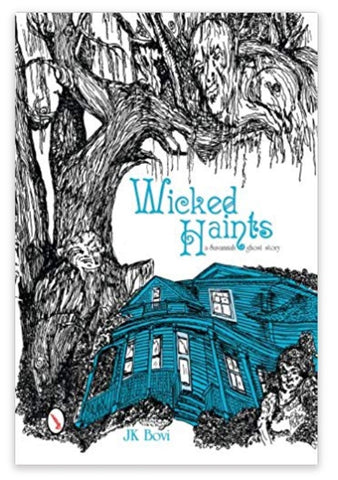 Wicked Haints: A Savannah Ghost Story. Available on Amazon.