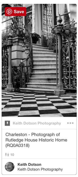 Rutledge House Charleston photograph by Keith Dotson on Pinterest