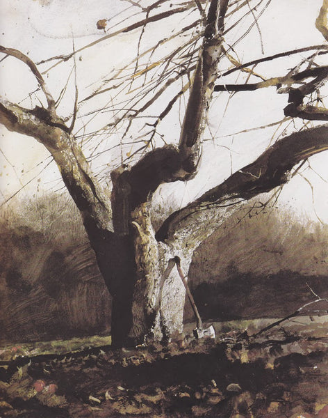 The Ax by Andrew Wyeth