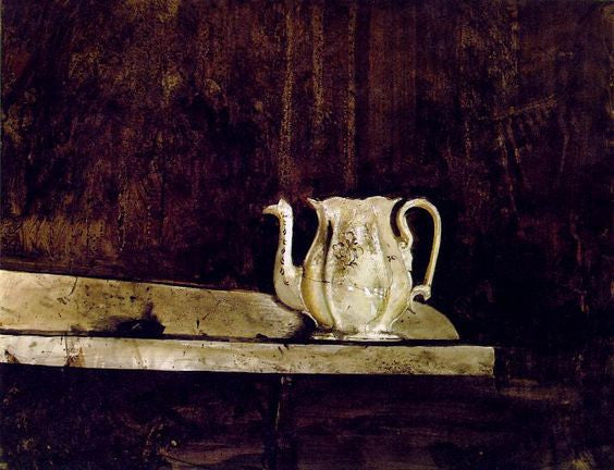 Christina's Teapot, by Andrew Wyeth