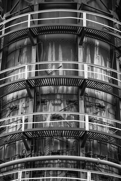 Catwalks, Sloss Furnaces, Birmingham, 2014 (A0007392)