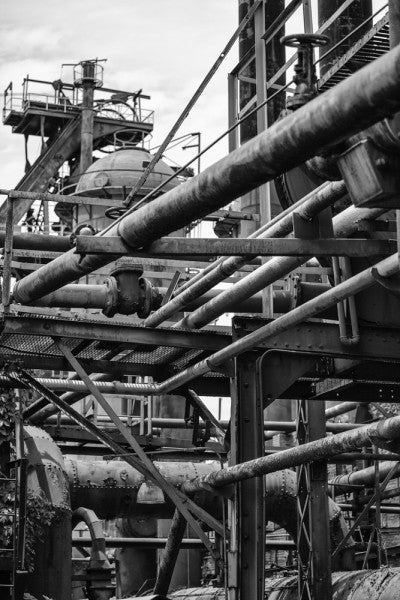 Pipe Networks at Sloss Furnaces, Birmingham (A0007507)