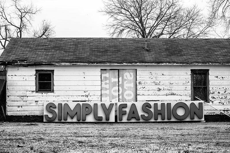 Simply Fashion Sign - Birmingham, Alabama (A0010365)