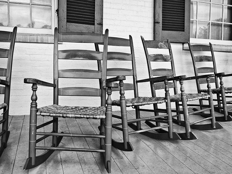 Rocking Chairs on the Porch at Carnton Plantation House (P6014040)