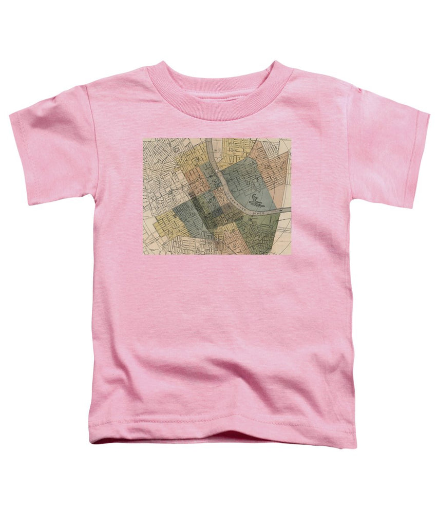 Map Of Nashville 1880s  - Toddler T-Shirt