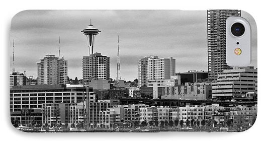 Seattle Skyline - Phone Case