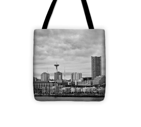 Seattle Skyline - Tote Bag